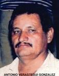 ANTONIO VERASTEGUI GONZALEZ