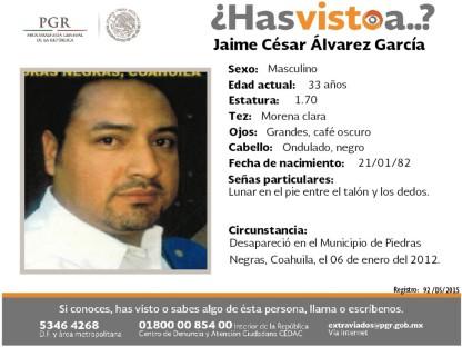 092-DS-2015 Jaime Cesar Alvarez García