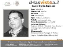 426-EXT-2009 Daniel Duran Espinoza