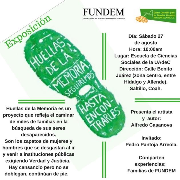 160825_Presentacion_Huellas_Memoria_Saltillo